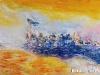 Mashbat Sambuu - On the move 2 - Oil on canvas - 60x80 cm