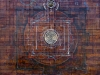 Orkhontuul Banzragch - Omen - Mixed media on canvas - 70x70 cm