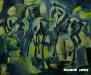 Sainkhuu E. - At dawn - Oil on canvas - 65.3x80 cm
