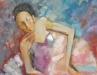 Amartsengel G. - Ballet 2 - Oil on canvas - 90x60 cm
