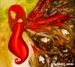 Bolortuvshin J. - Butterfly 2 - Oil on canvas - 100x110 cm