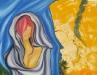 Bolortuvshin J. - Tairalt - Oil on canvas - 120x97 cm