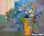 Uranchimeg S. - Flowers in a vase - Oil on canvas - 50x60 cm