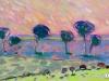 Bukhshandas D. - Gobi landscape - Oil on canvas - 48x75 cm