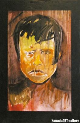 Ts.Odgerel - Portrait 2 -100x80 cm